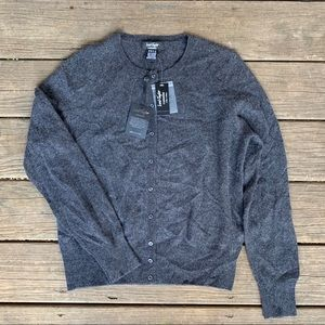 Lord & Taylor Cashmere Cardigan Sweater!! NWT!!